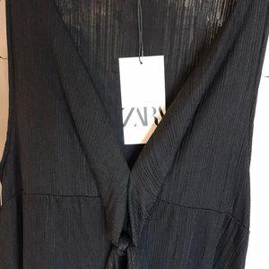 Zara KNOTTED Dress
